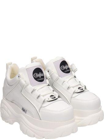 Buffalo Low White Classic Platform Sneakers