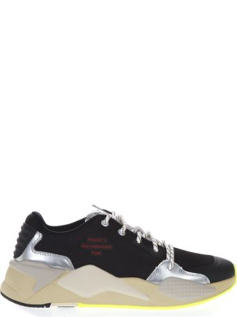 Puma Select Black Rs-x By Han Textile Sneaker