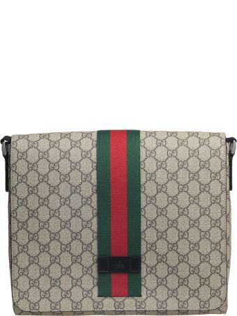 Gucci shoulder bag with flap made