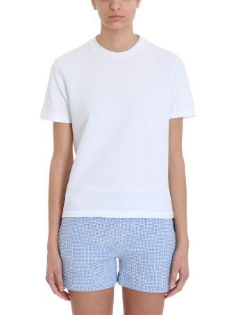 Thom Browne Rwb White Piqu? T-shirt
