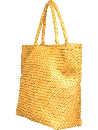 Officine Creative Officine Creative Yellow Class35 Braided Bag