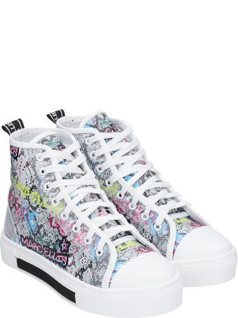 Marc Ellis Sneakers In Multicolor Leather
