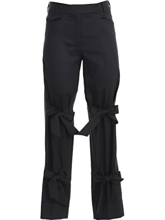 Simone Rocha Bow Details Trousers