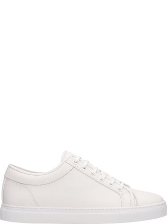 Etq White Leather Low 1 Sneakers