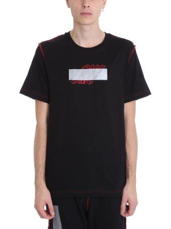 OMC Black Cotton T-shirt