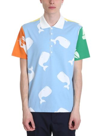Thom Browne Multicolor Cotton Polo Shirt