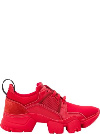 Givenchy Red Jaw Sneakers