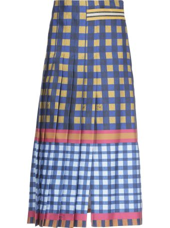 Stella Jean Pleated Skirt