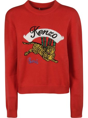Kenzo Tiger Knit Sweater