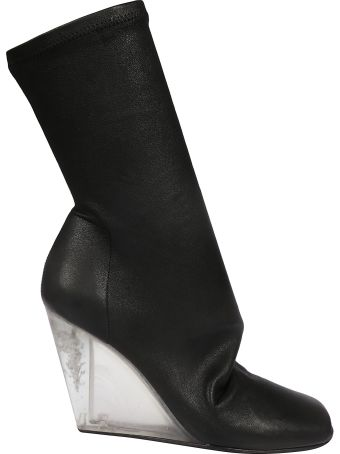 Rick Owens Open Toe Boots