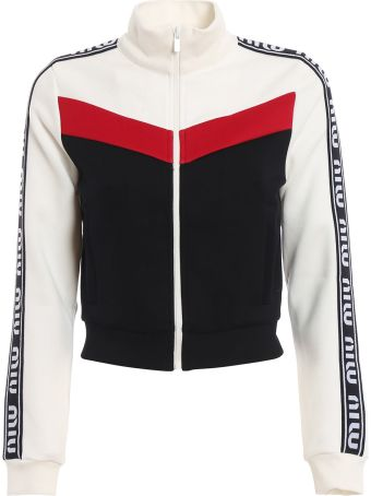 Miu Miu Paneled Track Jacket