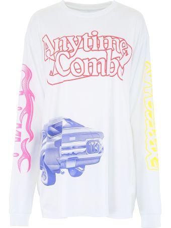 Calvin Klein Printed Long-sleeved T-shirt