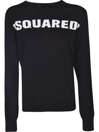 Dsquared2 Intarsia Logo Sweater