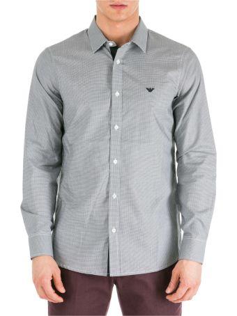 Emporio Armani  Long Sleeve Shirt Dress Shirt Regular Fit