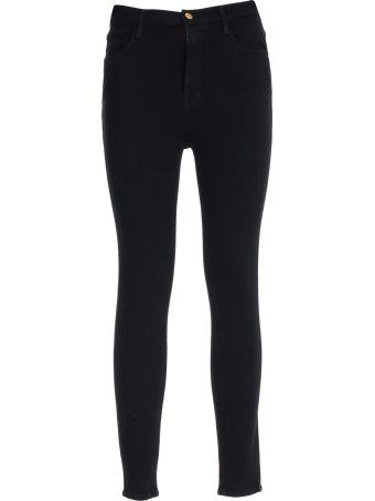 Frame Jeans Skinny Elastic High Waist