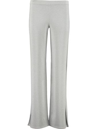 Max Mara Studio Taglio Lurex Knit Trousers