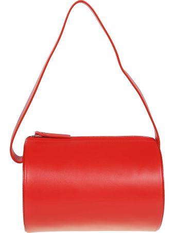 Building Block Barrel Shoulder Bag