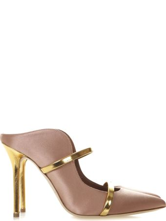 Malone Souliers Maureen Light Brown Leather Pumps