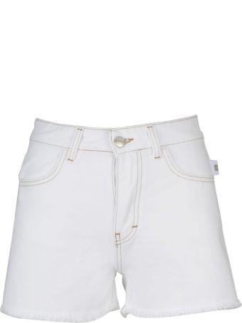 GCDS Stitch Denim Shorts