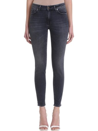 Mauro Grifoni Black Denim Jeans