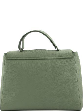 Orciani Sveva Soft Large Leather Shoulder Bag