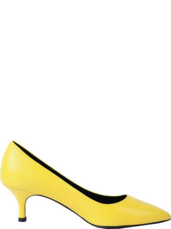 Luca Valentini Yellow Fiona Pumps