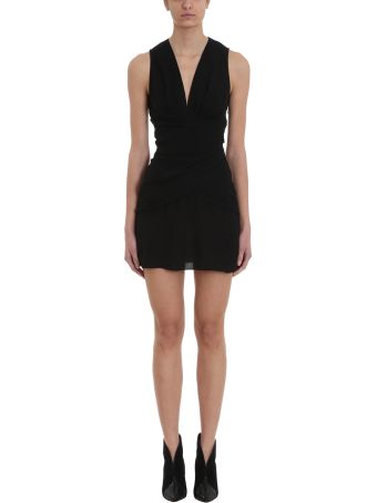 IRO Avenue Black Viscose Dress