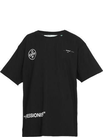 Off-White Stencil S/s Over Tee