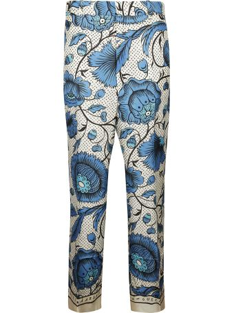 Gucci Floral Printed Trousers