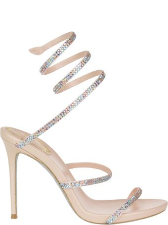 René Caovilla Pump Sandals