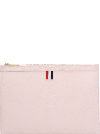 Thom Browne Pink Quilted Leather