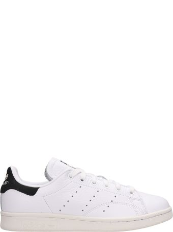 Adidas White Leather Stan Smith Sneakers