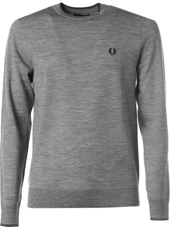 Fred Perry Grey Crew Neck