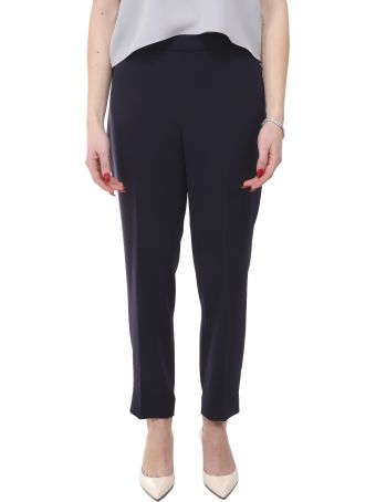 Theory Navy Trousers