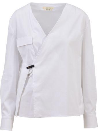 Alyx White Wrap Shirt