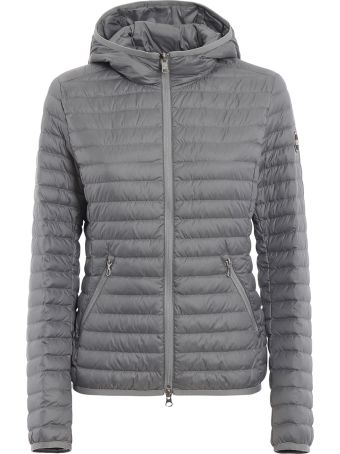 Colmar Hooded Grey Puffer Jacket