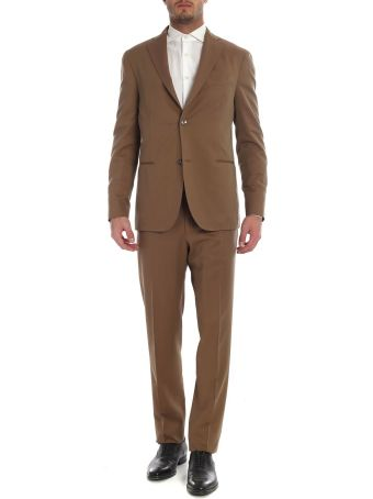 Boglioli Wool And Cotton Suit