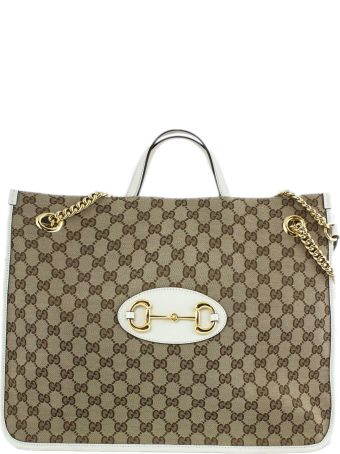 Gucci Gucci 1955 Horsebit Large Tote Bag