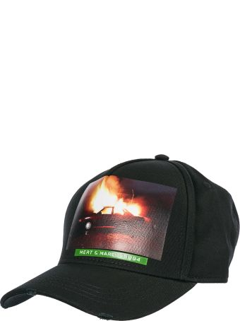 Dsquared2 Adjustable Cotton Hat Baseball Cap Mert & Marcus