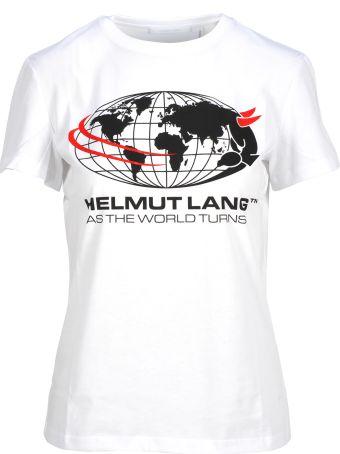 Helmut Lang Tshirt Print