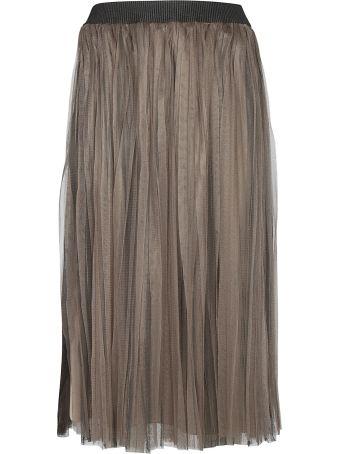 Fabiana Filippi Pleated Tulle Skirt