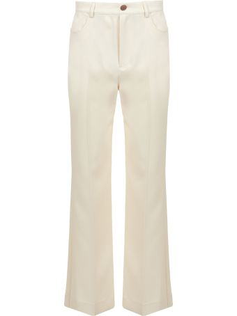 See by Chloé High Waist Flared Trousers