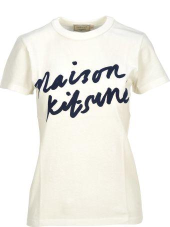 Maison Kitsuné Maison Kitsune Tee-shirt Handwriting