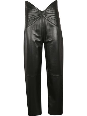 ATTICO High-waist Trousers