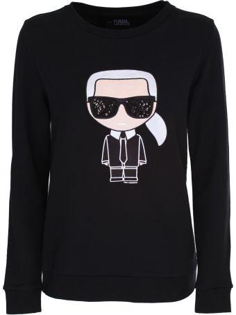 Karl Lagerfeld KARL IKONIK cotton sweatshirt