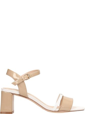 Bibi Lou Nude Leather Sandals