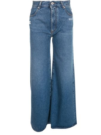 Off-White Wide-leg Jeans