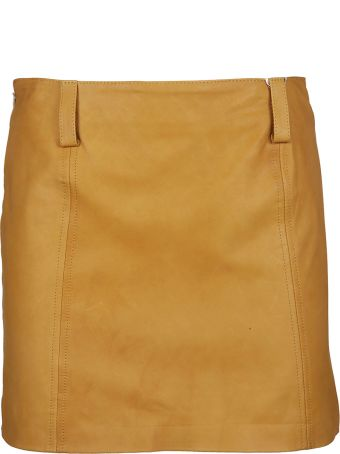 Vintage Deluxe Vintage De Luxe Mini Leather Skirt