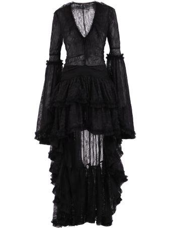 Amen Sequinned Long Dress