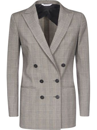 Tonello Double-breasted Check Blazer